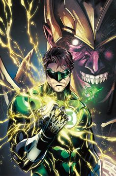 Injustice: Green Lantern Hal Jordan and Sinestro by Jheremy Raapack