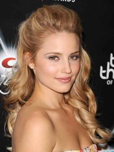 prom hairstyles for strapless dresses