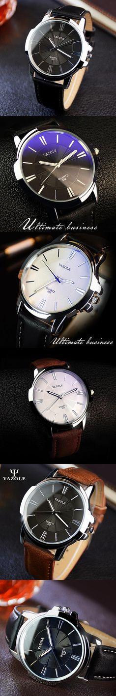 2017 Fashion YAZOLE Quartz Watch Men Watches Top Brand Luxury Male Clock Business Mens Wrist Watch Hodinky Relogio Masculino
