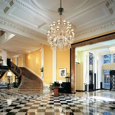 An art deco jewel in London's crown, Claridge's is the fashion flock's number one destination for exquisite cocktails and afternoon teas.