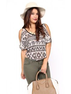 Eastern Nomad Knit Top