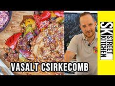 VASALT CSIRKECOMB, ahogy Roland készíti 👌 - YouTube Grilling, Meat, Street, Food, Kitchen, Youtube, Cooking, Crickets, Essen