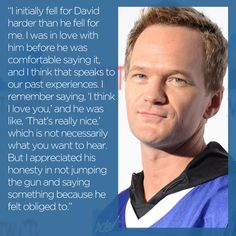 Neil Patrick Harris on David Burtka