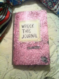 Wreck this journal: Spiced the cover up a bit #wreckthisjournal