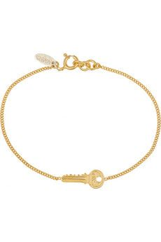 Finds + Wouters & Hendrix gold-plated bracelet | NET-A-PORTER
