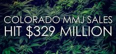 Colorado Medical Marijuana Sales Double to $329 Million