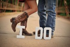 Cute picture idea for engagement photos