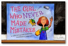 Back to School-Great book for explaining mistakes are OK with lesson ideas (The First Grade Parade)