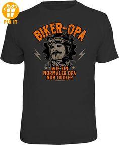 Biker - Opa - T-Shirt - Größe M - T-Shirts mit Spruch   Lustige und coole T-Shirts   Funny T-Shirts (*Partner-Link)