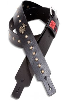 Red Monkey hand made leather guitar straps