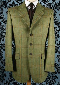 Boisdale Tweed Hacking Jacket - Bookster Tailoring