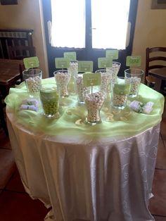Confettata Verde Mela #wedding2016 #confettata #immaginecoordinatanozze #thatswedding #allestimento #matrimonio #sposi #sposa #weddingday