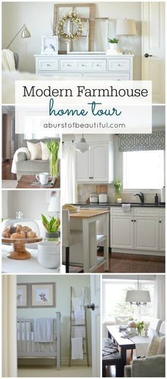 top 10 favorite blogger home tours | modern farmhouse, modern and
