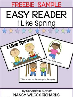 """This freebie is part of a larger product called """"Easy Reader: I Like Spring (3 Different Reading Levels for Primary Readers)"""". It's the first level reader in the product - the easiest level for your young readers.  The full product is a spring reader that has 3 LEVELS OF DIFFERENTIATION for your students.  As a BONUS, your students have the opportunity to CREATE THEIR OWN SPRING BOOKS. There are 3 levels of differentiation for the writing activity as well! A great confidence booster!"""