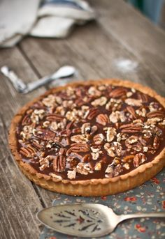 Salted Caramel Roasted Nut Tart   Adventures in Cooking