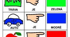 Skladame jednoduche vety Montessori, Language, Education, Comics, Autism, Learning, Languages, Comic, Comic Book