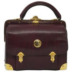 0eb7dc23c32a Roberta di Camerino Handbag with Gold Hardware