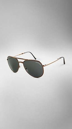 985164220937 Brit Rhythm Foldable Aviator Sunglasses Burberry Sunglasses