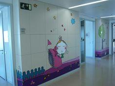misspink Zonas de pediatría en el Hospital de Burgos