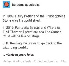 September 2017 is the day Albus severus potter starts hogwarts Harry Potter Books, Harry Potter Love, Harry Potter Universal, Harry Potter Fandom, Avpm, Superwholock, No Muggles, Mischief Managed, Fantastic Beasts