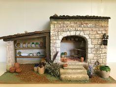 "L'ATELIER DE NÔEL: Mes creations de"" creche de Noel "" 2018 "" Paper Magic, Ceramic Houses, Cribs, Christmas Crafts, Creations, Workshop, Diorama, Beautiful, Home Decor"