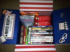 """January """"Movie Night"""" care package"""