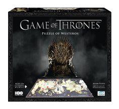 Game of Thrones 3D-Puzzle - Bau dir dein eigenes Westeros!