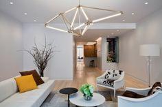 Futuristic Geometric LED Light Structure | DigsDigs