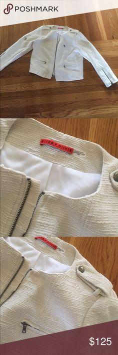 Alice and Olivia jacket motto style medium Beautiful!!! Alice & Olivia Jackets & Coats