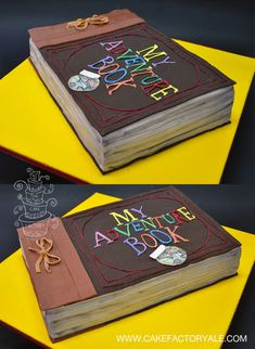 adventure book cake up movie