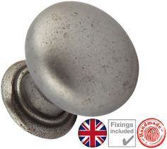 Hafele 'Myoh Tamar' Cupboard Knob, Natural Iron - 121.75.920 None