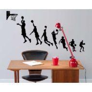 Basketbol Genç Odası Duvar Sticker http://www.stickerdepo.com/