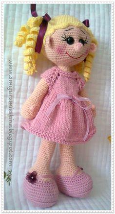 En Güzel Örgülerim: Sarışın Lola Doll
