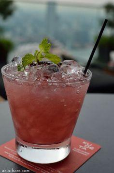 Lady marmalade cocktail #gin | ku de ta singapore