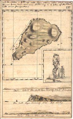 Easter Island, 1773 #map #easterisland