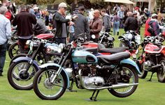 Old bikes stir up old memories for Dain Gingerelli and his brother at The Quail Motorcycle Gathering. (Story and photos by Dain Gingerelli. Motorcycle Classics, September/October 2015)