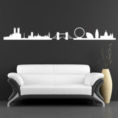 London Skyline Wall Sticker Wall Art from Next Wall Stickers