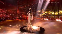 Australian Conchita Wurst aka the bearded lady wins the 2014 Eurovision with the Rise Like A Phoenix song.