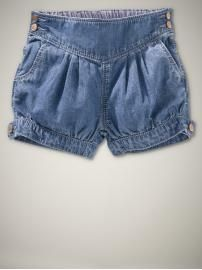 denim bloomers for baby