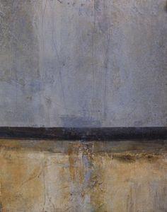 "Rebecca Crowell.  Strata series, Structure #2 14"" x 11"" (2011)*"