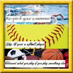 Re pin if you're a swimmer. I did!