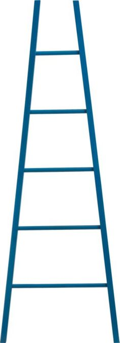 "ladder in storage | CB2 | $200 | dimensions: 27""Wx2""Dx78.5""H 