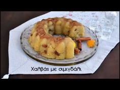 Χαλβάς με σιμιγδάλι (VIDEO) - cretangastronomy.gr Food Decoration, Greek Recipes, Bagel, Sweets, Bread, Desserts, Greek Beauty, Kitchens, Tailgate Desserts