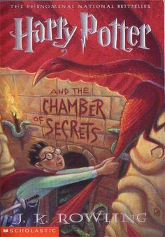 Harry Potter and the Chamber of Secrets - J. K. Rowling (Harry Potter #2) *Art by Mary GrandPre*