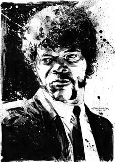 Jules Winnfield - Pulp Fiction - Drumond Art