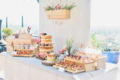 Party sweets from Shabby Chic Farmer's Market Birthday Party at Kara's Party Ideas. See more at karaspartyideas.com!