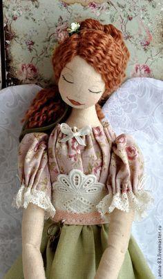 Muñecas de colección hechos a mano. Masters Feria - Ángel hecho a mano - ama de casa. Hecho A Mano.