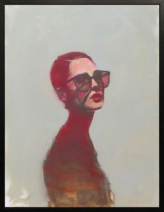 Michael Carson - #contemporary #figurative #expressionist #face #portrait #painting #loveart