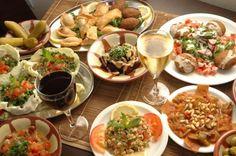Mezzeh del ristorante libanese Dawali (Milano).