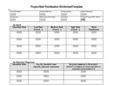 Download Work Package For Project Execution Plan Template